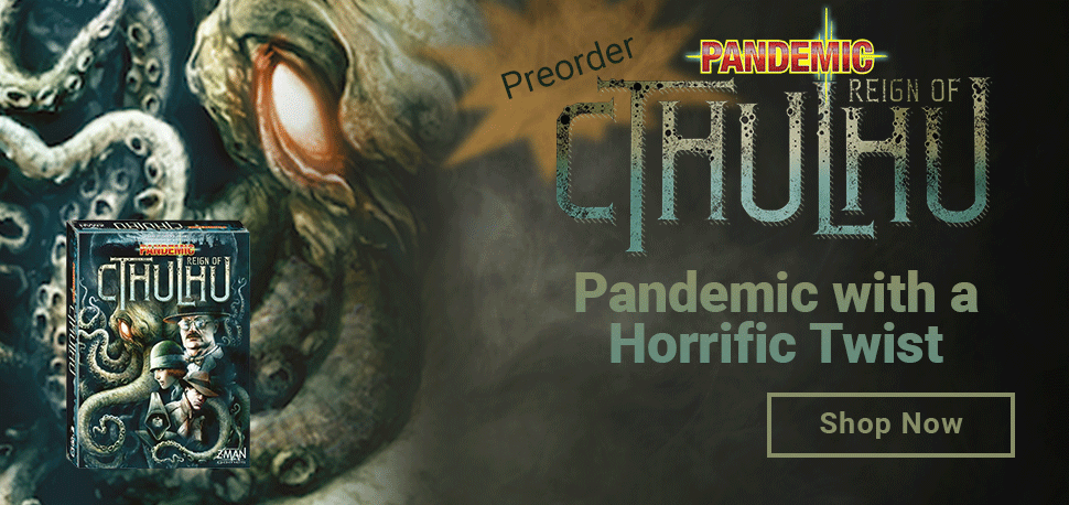 Pandemic: Reign of Cthulhu!