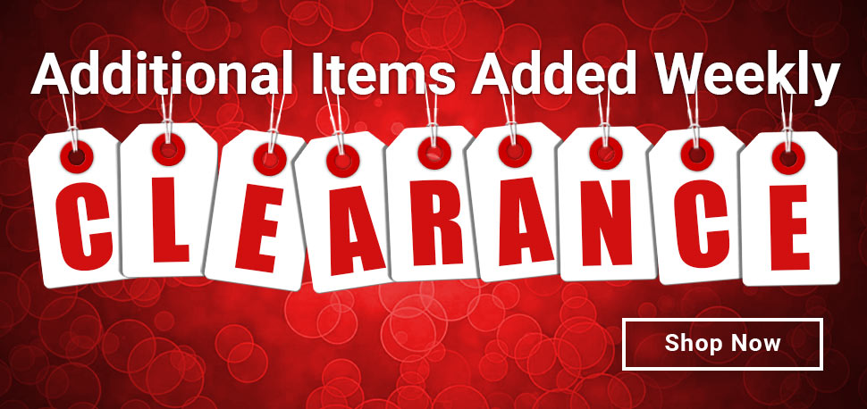 New Clearance Products!