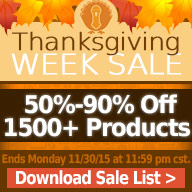 Thanksgiving Sale!!