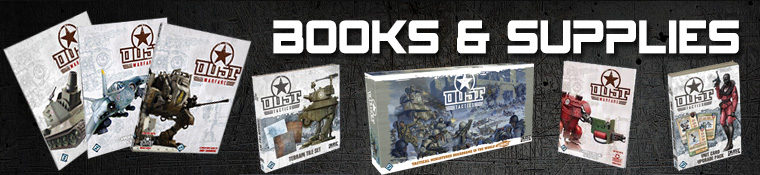 Dust Tactics - Books and Supplies