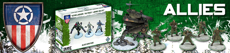 Dust Tactics - Allies