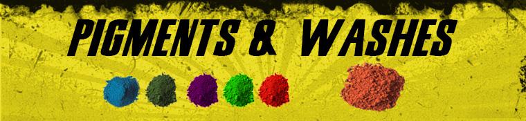 Secret Weapon Pigments & Washes