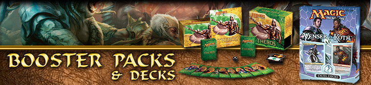 Magic The Gathering Booster Packs and Decks