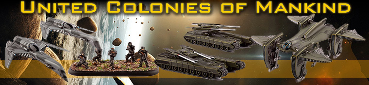 DropZone Commander United Colonies of Mankind