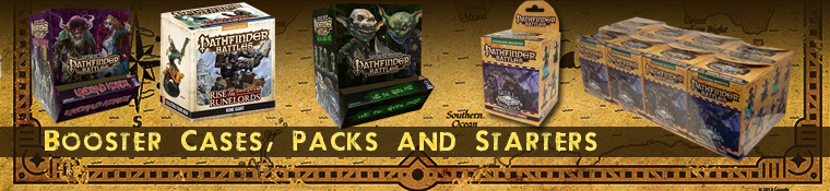 Pathfinder Battles Booster Cases and Starter Packs