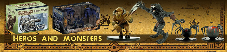 Pathfinder Battles Heros and Monsters