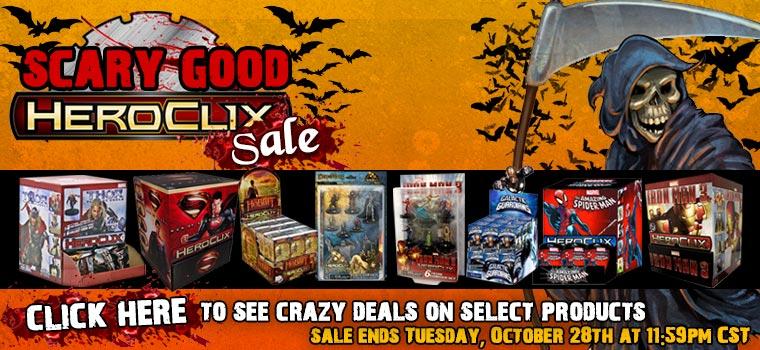 Halloween Scary Good Heroclix Sale!!