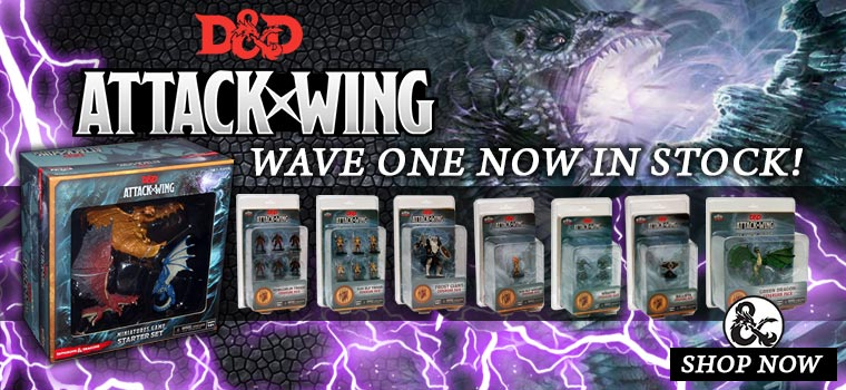 Dungeons and Dragons Attack Wing!