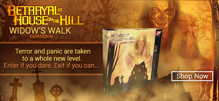 Betrayal at House on the Hill!