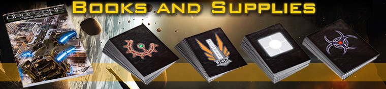 DropZone Commander Books and Supplies