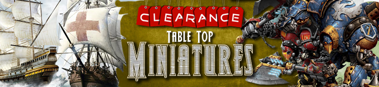 Clearance Table Top Miniatures