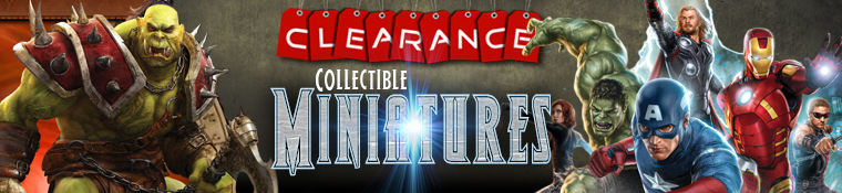 Clearance Collectible Miniatures