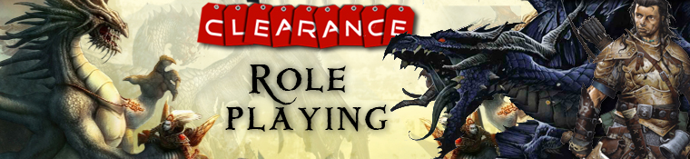 Clearance Role Playing Games