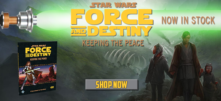 Force and Destiny - Keeping the Peace!
