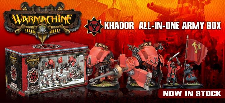Warmachine: Khador - All-in-One Army Box