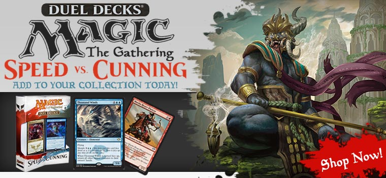 Magic The gathering Speed vs Cunning