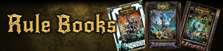 Warmachine/Hordes Rule Books
