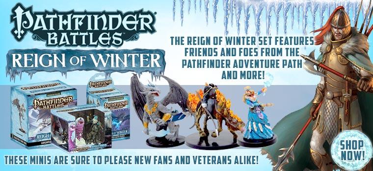 Pathfinder Reign of winter!!