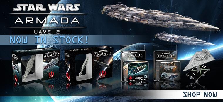 Star Wars Armada in stock