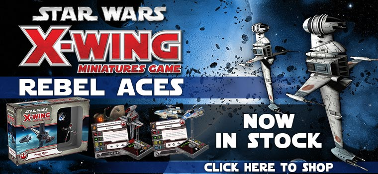 StarWars Rebel Aces Now In Stock!!