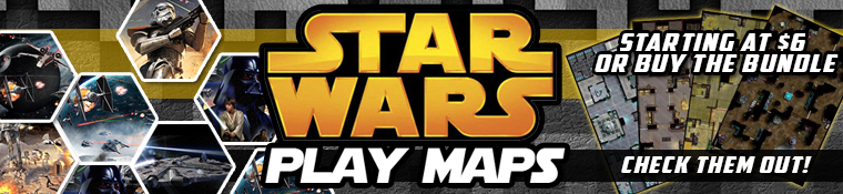 Star Wars Play Maps