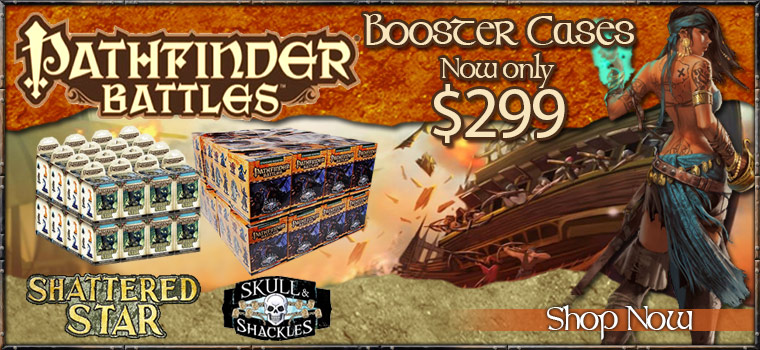 Pathfinder Booster Cases Clearance