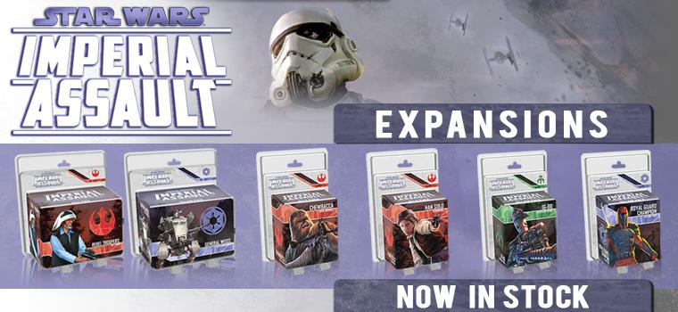 Star Wars Imperial Assault!!