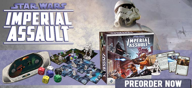 Star Wars Imperial Assault!!