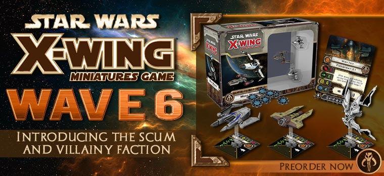 Star Wars Scum and  Villainy Faction!!