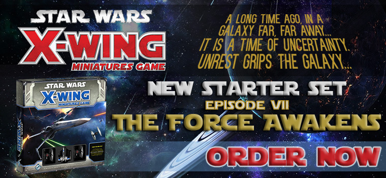 Star Wars X-Wing - The Force Awakens