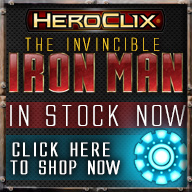 The Invincible Iron Man Heroclix - Now Available!!