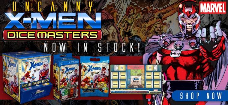 Uncanny X-Men Dice Masters!!