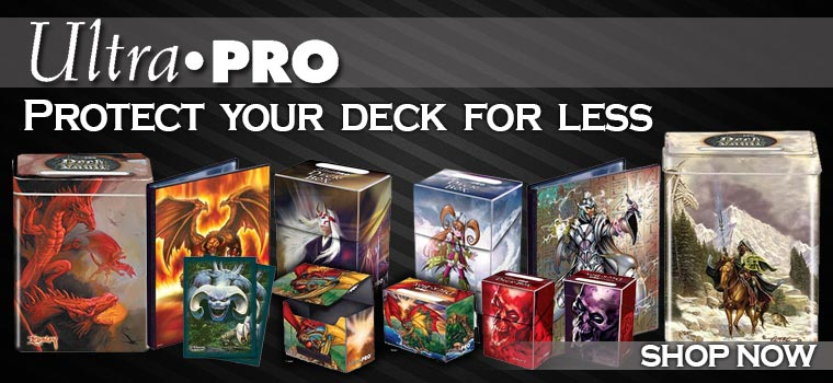 Ultra Pro Protect your Deck for Less