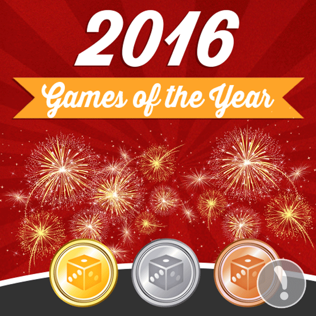2016 Games of the Year