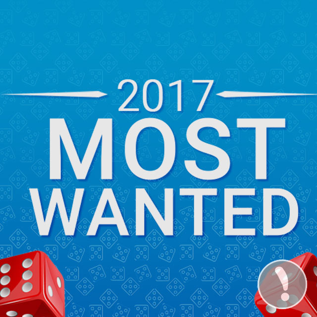 2017 Most Wanted Games