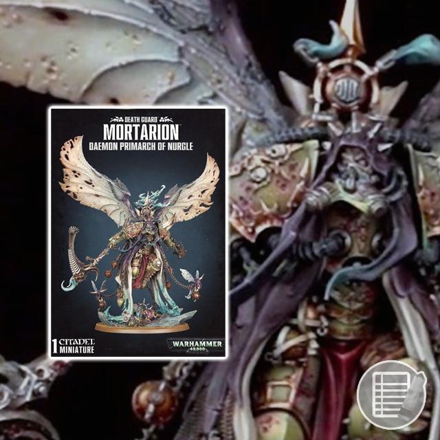 Warhammer 40K: Death Guard Mortarion Review