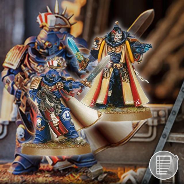 Warhammer 40k: Primaris Captain and Librarian Review