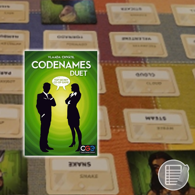 Codenames: Duet Review