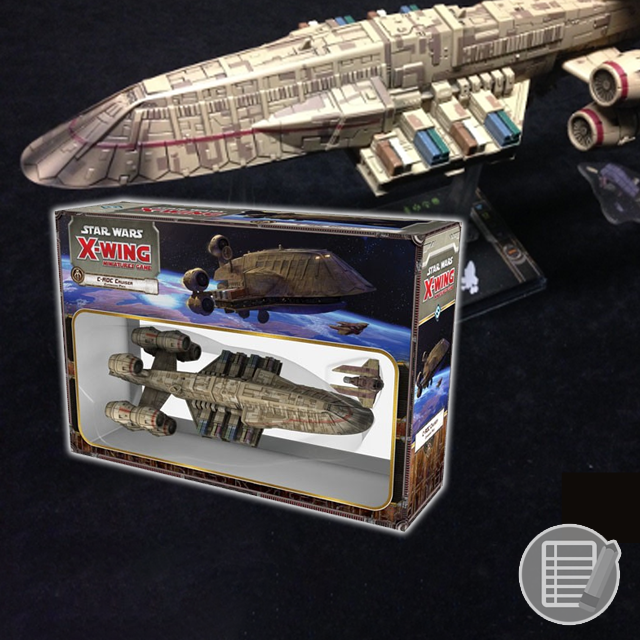Star Wars: X-Wing - C-ROC Cruiser Review