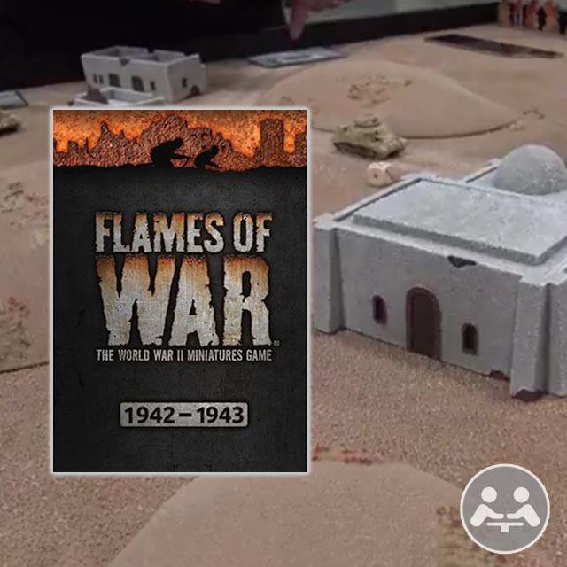 Flames of War Playthrough