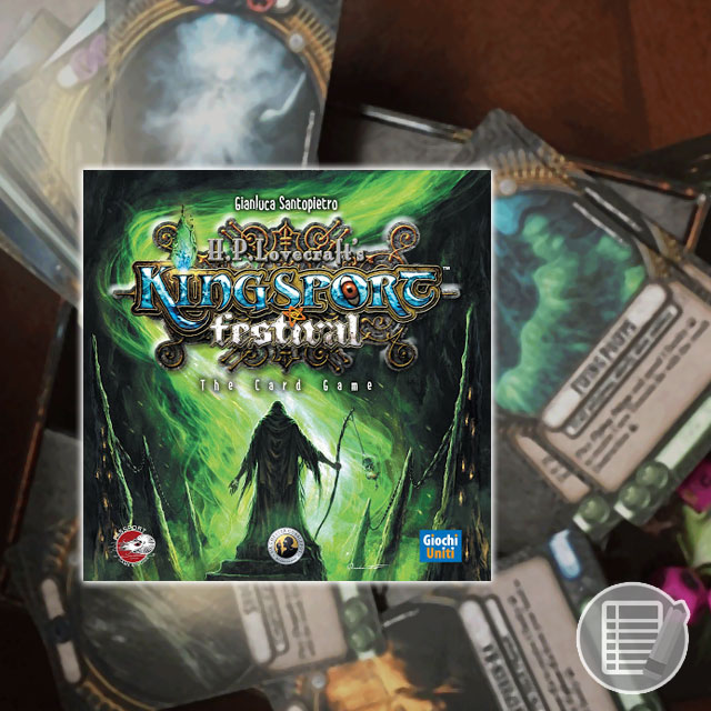 Kingsport Festival: The Card Game Review