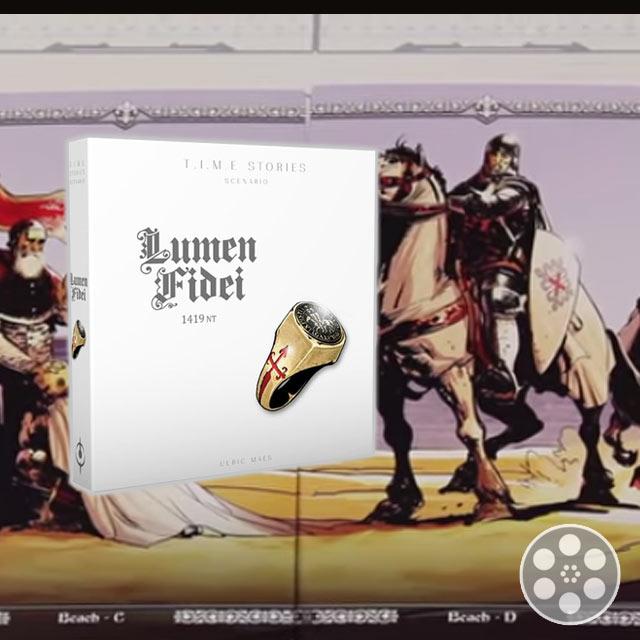 T.I.M.E. Stories: Lumen Fidei Expansion Review