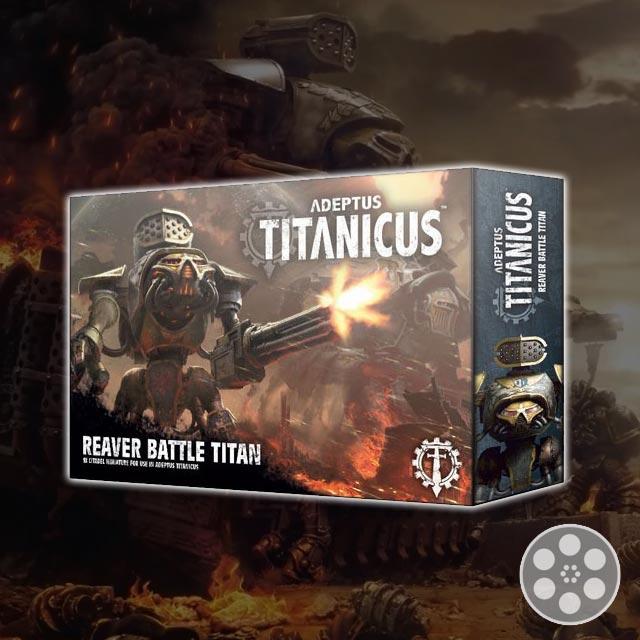 Magnetize the Reaver Titan for Adeptus Titanicus