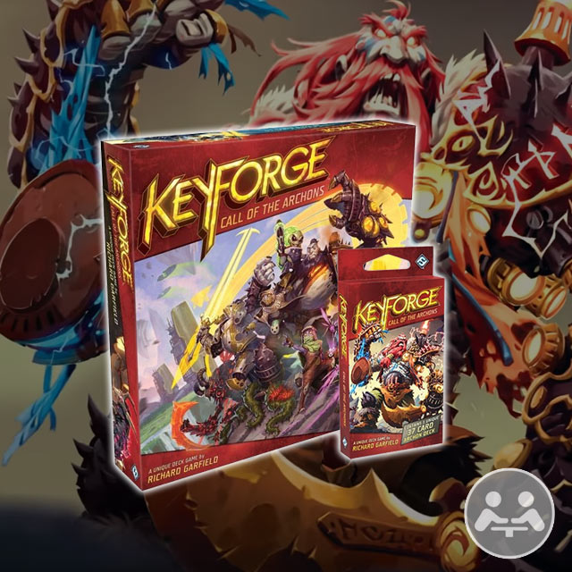 Keyforge: Call of the Archons Playthrough