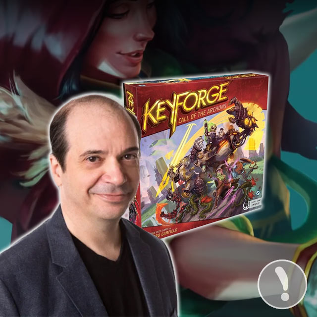 Keyforge: Richard Garfield Interview