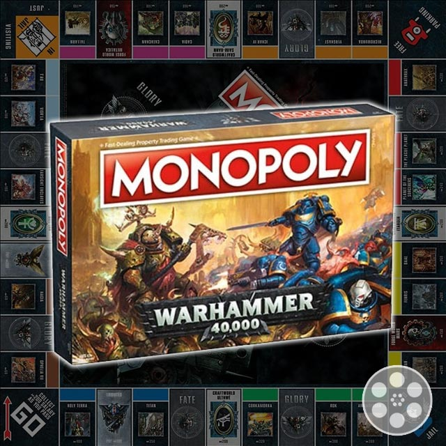 Don't Go Bankrupt with Warhammer 40K Monopoly