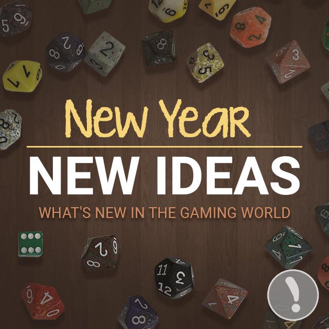 New Year, New Ideas