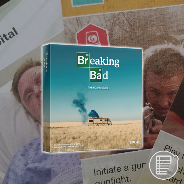 Breaking Bad: The Board Game Review