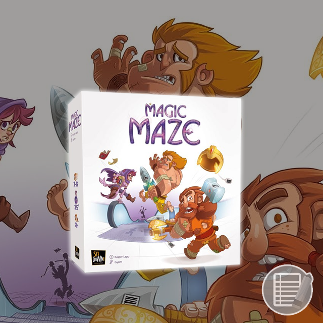 Magic Maze Review