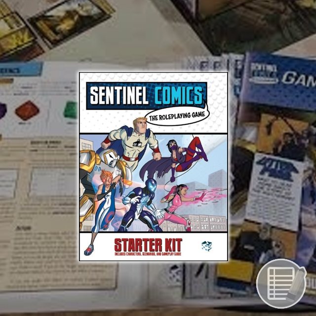 Sentinel Comics RPG: Starter Kit Review